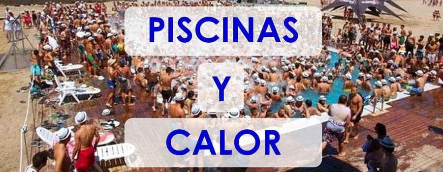 piscinas y calor